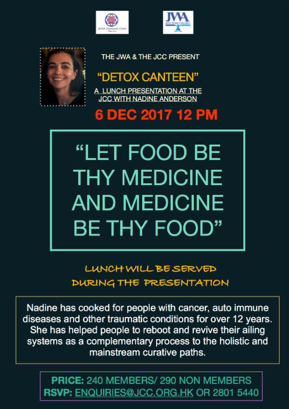 Detox Canteen with Nadine Anderson