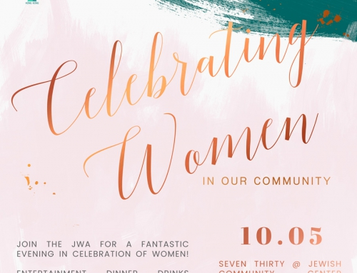 The JWA Women's Event – May 10, 2018