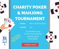 May 4, 2019 - JWA Charity Poker & Mahjong